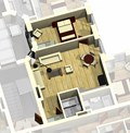 Apartment 1A / 3D View
