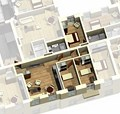 Apartment 1B / 3D View