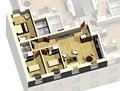 Apartment 2D / 3D View
