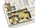 Квартира 1C / 3d вид