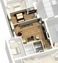 Квартира 1D / 3d вид