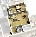 Квартира 1E / 3d вид