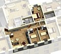 Квартира 2C / 3d вид