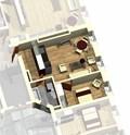 Квартира 40 / 3d вид