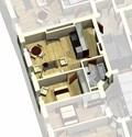 Квартира 45 / 3d вид