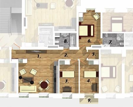 Квартира 1B