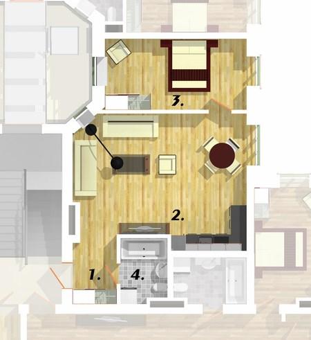 Квартира 1E