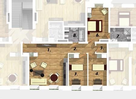 Квартира 1F