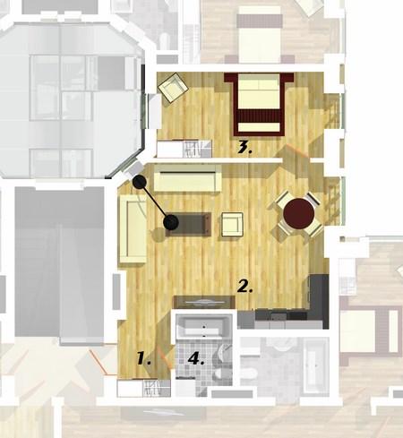 Квартира 2B