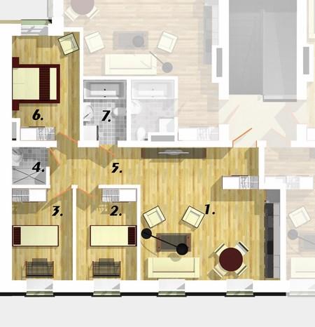 Квартира 2D